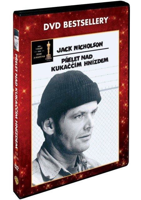 Přelet nad kukaččím hnízdem (1xDVD) (český dabing) - DVD bestsellery