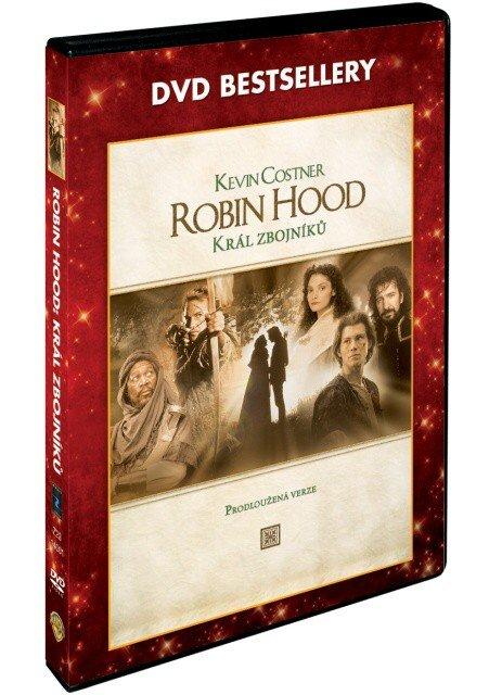 Robin Hood: Král zbojníků (DVD) - prodloužená verze - DVD bestsellery