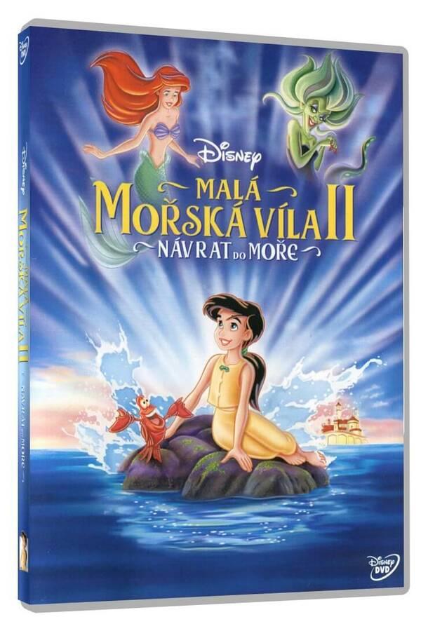 Malá mořská víla 2.: Návrat do moře (DVD)