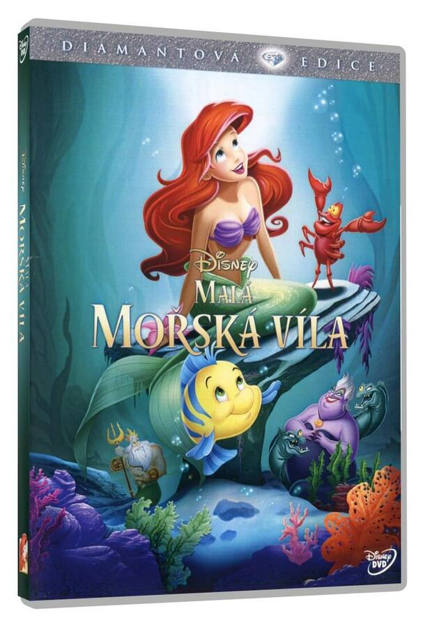 Malá mořská víla DE (DVD)