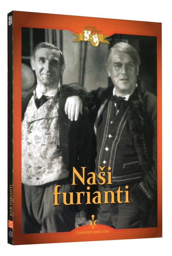 Naši furianti (DVD) - digipack