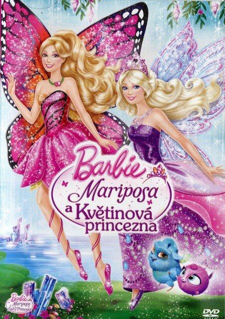 Barbie - Mariposa a Květinová princezna (DVD) + přívěsek
