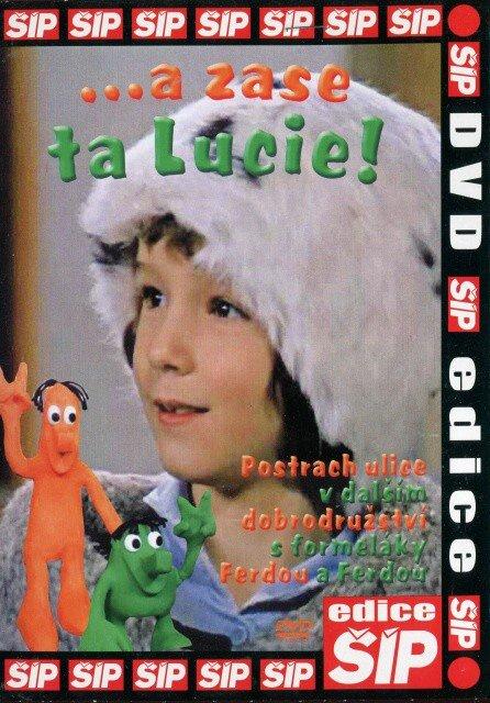 a zase ta Lucie! (DVD) (papírový obal)