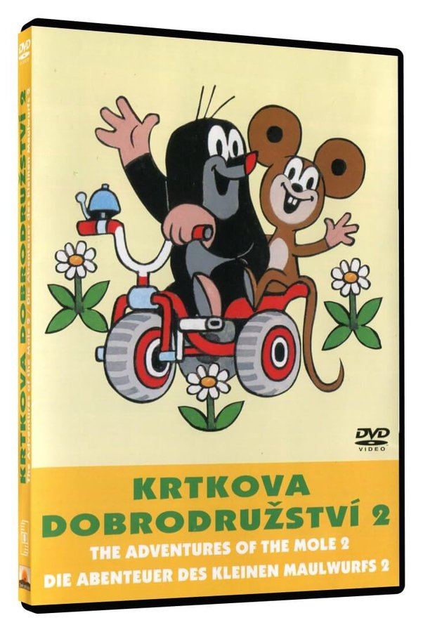 Krtkova dobrodružství 2 (DVD)