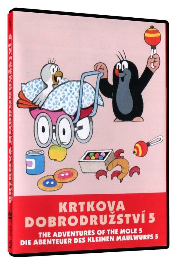 Krtkova dobrodružství 5 (DVD)