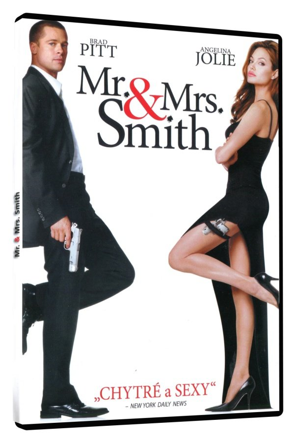 Mr. & Mrs. Smith (DVD) - slimbox