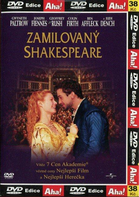 Zamilovaný Shakespeare (DVD) (papírový obal)