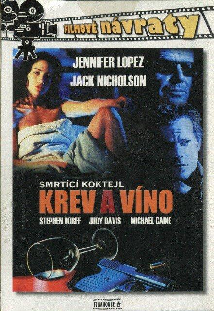 Krev a víno (DVD) (papírový obal)