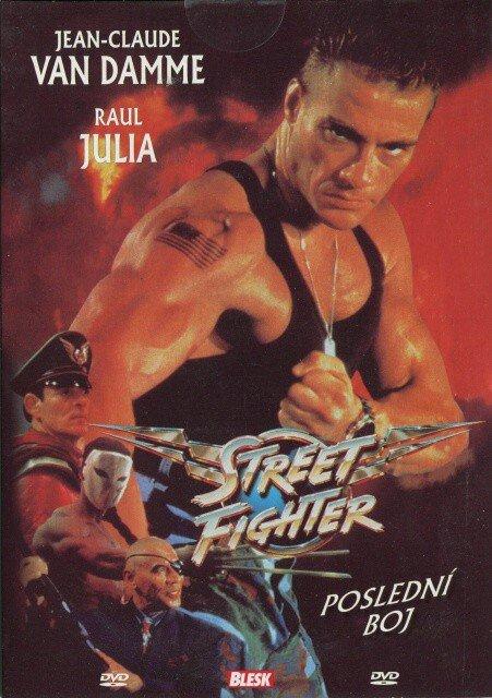 Street Fighter: Poslední boj (DVD) (papírový obal)