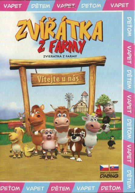 Zvířátka z farmy (DVD) (papírový obal)