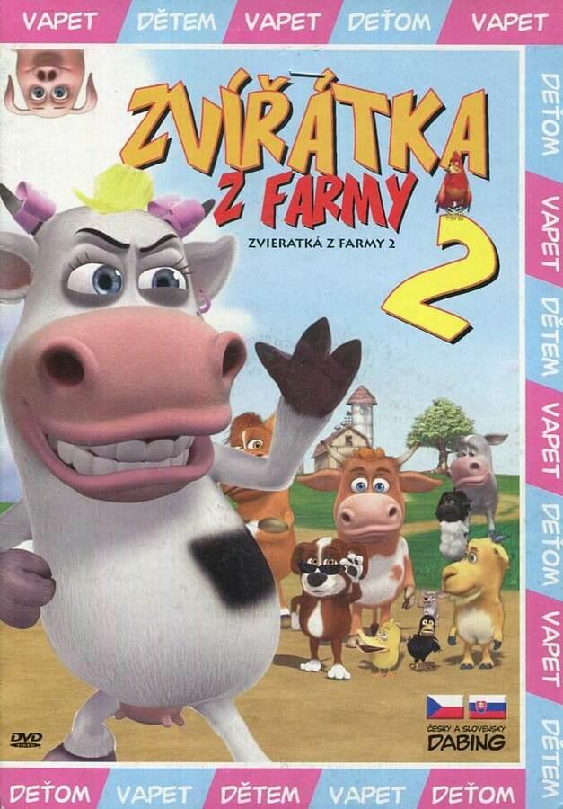 Zvířátka z farmy 2 (DVD) (papírový obal)