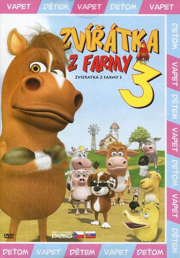 Zvířátka z farmy 3 (DVD) (papírový obal)