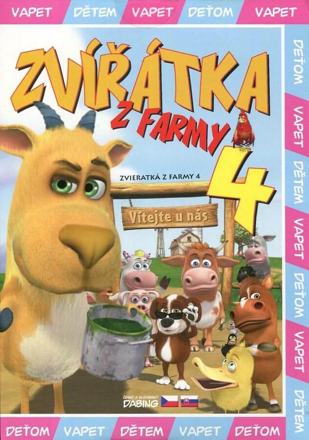 Zvířátka z farmy 4 (DVD) (papírový obal)