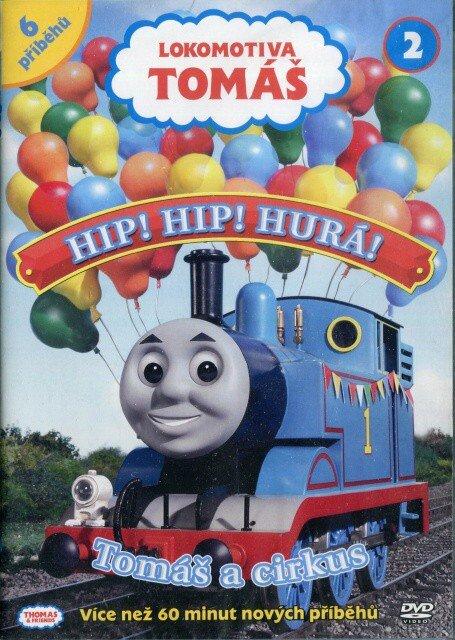 Lokomotiva Tomáš - Hip! Hip! Hurá! Tomáš a cirkus (DVD)