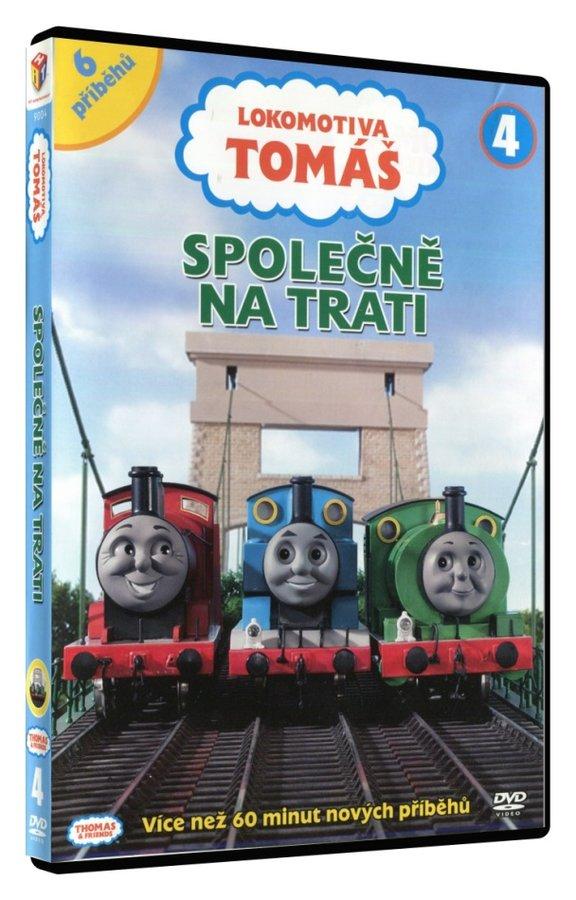 Lokomotiva Tomáš - Společně na trati (DVD)
