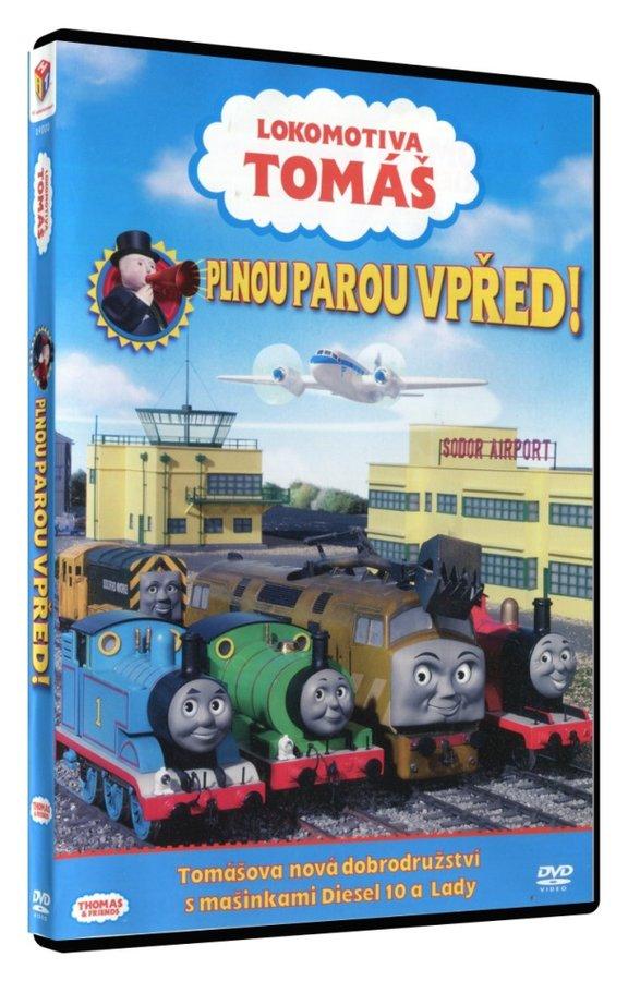 Lokomotiva Tomáš - Plnou parou vpřed! (DVD)