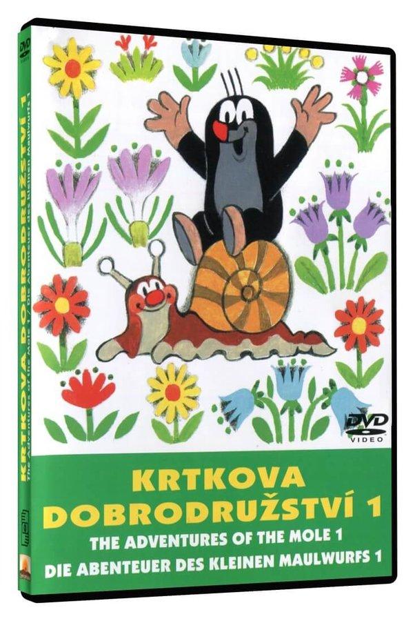 Krtkova dobrodružství 1 (DVD)