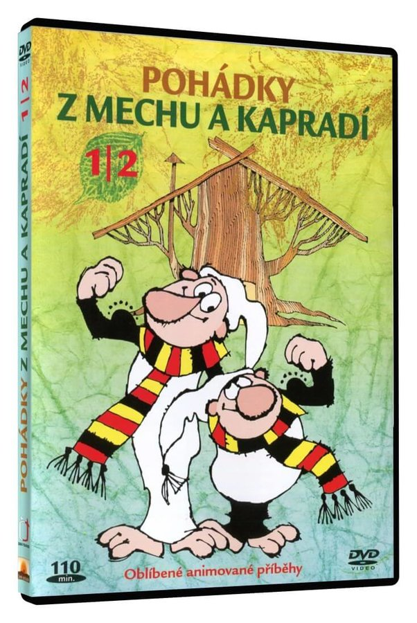 Pohádky z mechu a kapradí 1 + 2 (DVD)