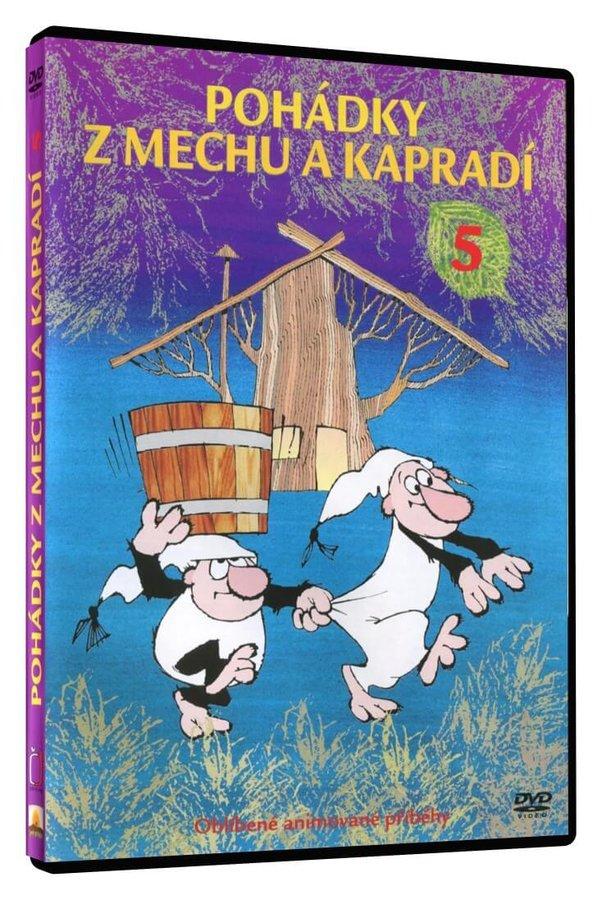 Pohádky z mechu a kapradí 5 (DVD)