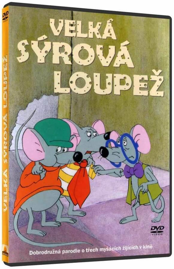 Velká sýrová loupež (DVD)