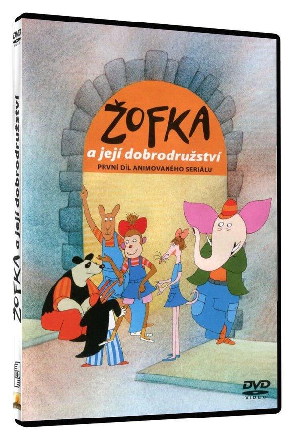 Žofka a její dobrodružství 1 (DVD)