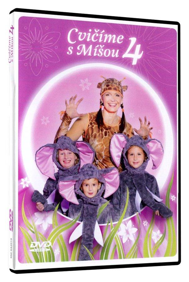 Cvičíme s Míšou 4 (DVD)