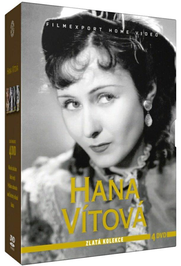 Hana Vítová - Zlatá kolekce - 4 DVD