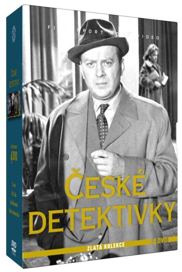 České detektivky - kolekce (4 DVD)