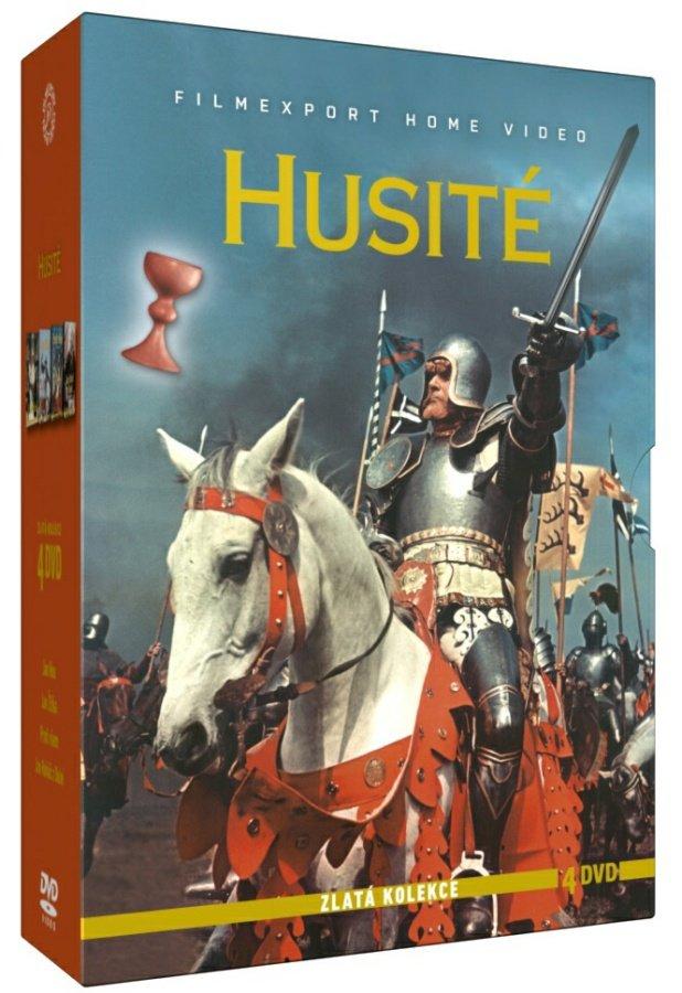 Husité - Zlatá kolekce - 4 DVD