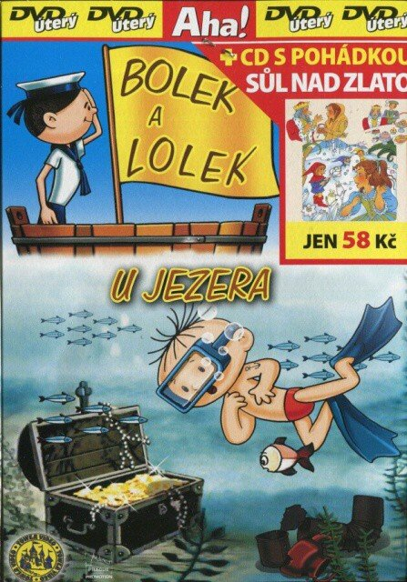 Bolek a Lolek u jezera (DVD) (papírový obal)