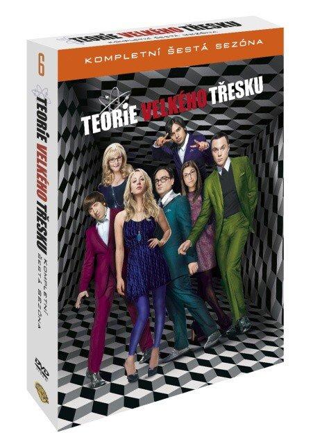 Teorie velkého třesku 6. sezóna - 3 DVD (český dabing)