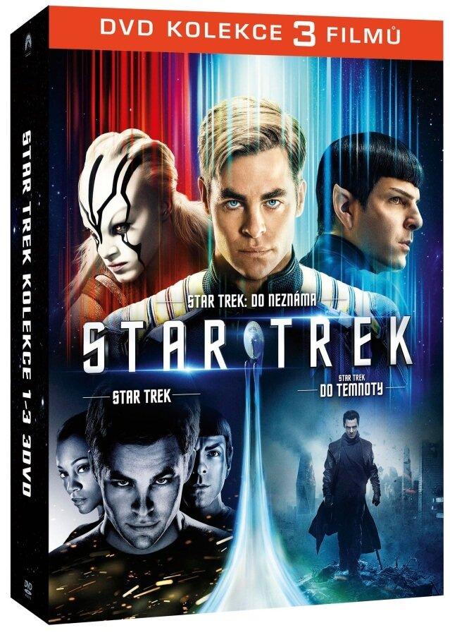 Star Trek kolekce 1-3 (3xDVD)