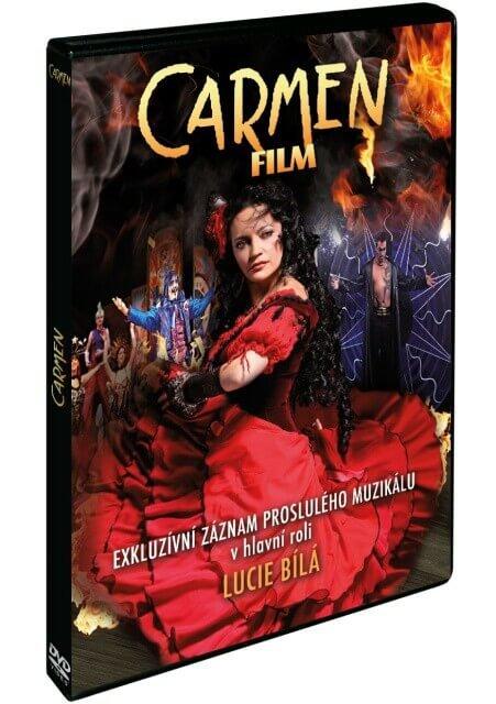 Carmen (DVD) - muzikál s Lucií Bílou