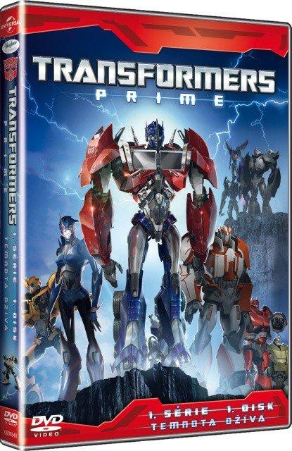 Transformers Prime 1. série - 1. disk (DVD)