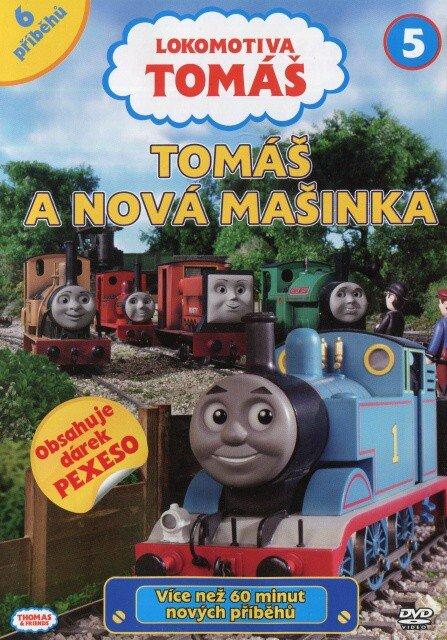 Lokomotiva Tomáš - Tomáš a nová mašinka (DVD)