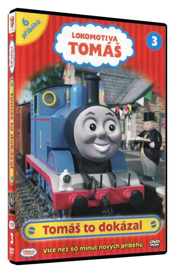 Lokomotiva Tomáš - Tomáš to dokázal (DVD)