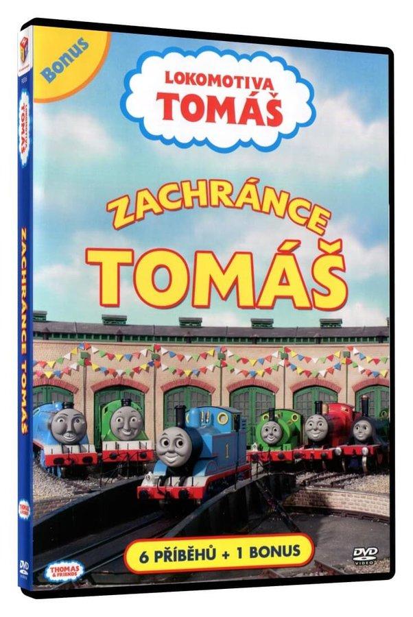 Lokomotiva Tomáš - Zachránce Tomáš (DVD)