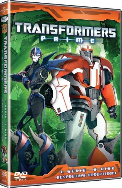 Transformers Prime 1. série - 3. disk (DVD)