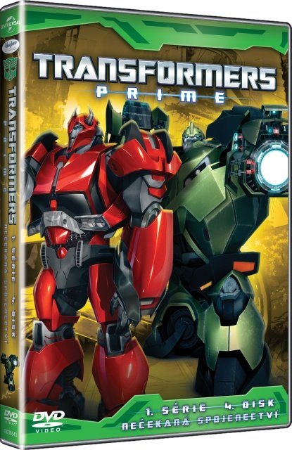Transformers Prime 1. série - 4. disk (DVD)