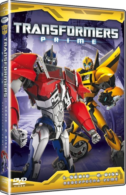 Transformers Prime 1. série - 5. disk (DVD)