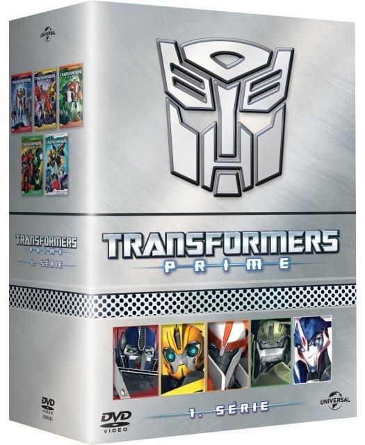 Transformers Prime - kompletní 1. série (5xDVD)