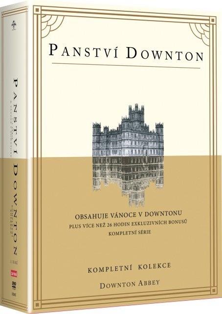 Panství Downton 1-3 (tv seriál) (DVD)