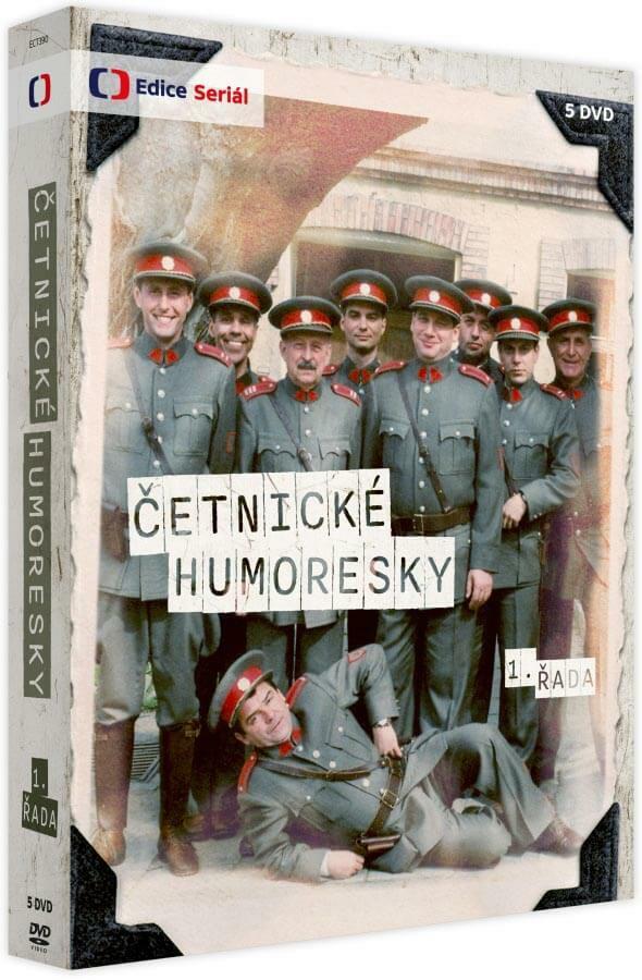 Četnické humoresky 1. série (5xDVD)