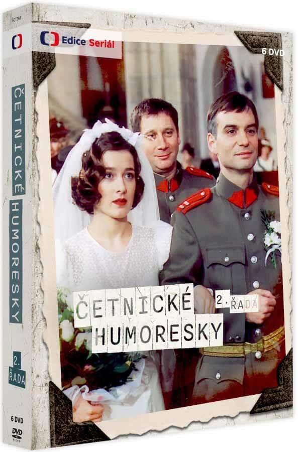 Četnické humoresky 2. série (4xDVD)