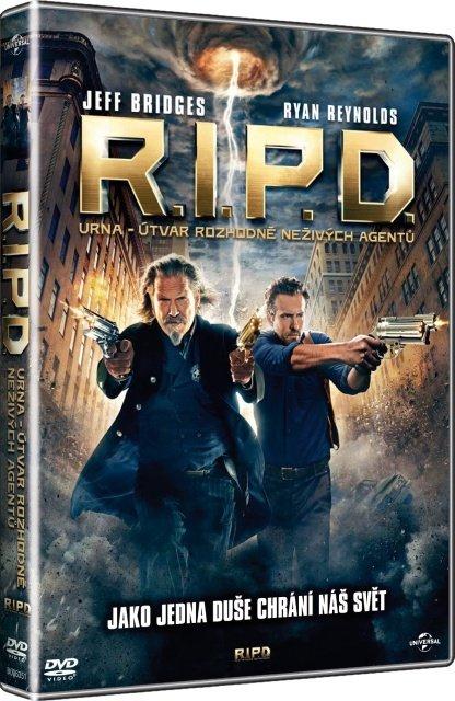 R.I.P.D.: URNA - Útvar Rozhodně Neživých Agentů (DVD)