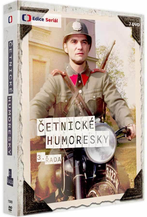 Četnické humoresky 3. série (6xDVD)