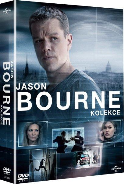Jason Bourne kolekce (6xDVD)