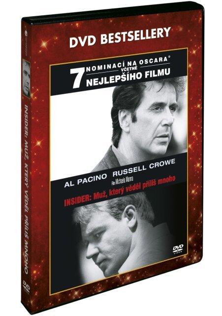 Insider: Muž, který věděl příliš mnoho (DVD) - DVD bestsellery