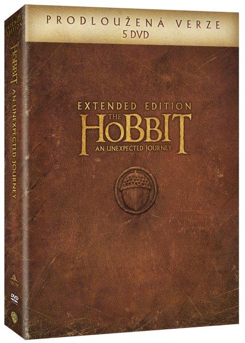 Hobit: Neočekávaná cesta (5xDVD) - prodloužená verze