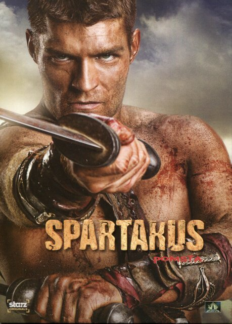 Spartakus: Pomsta (4 DVD) - seriál